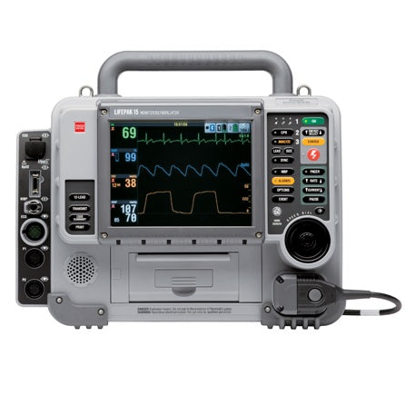 Physio-Control Lifepak 15 Defibrillator - Refurbished