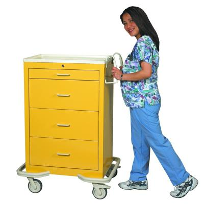 MPD Medical Key Lock Isolation Carts