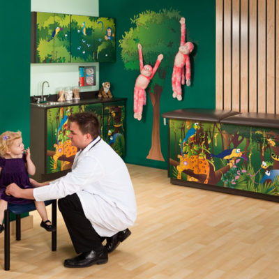Clinton 7932-X Pediatric Ready Room