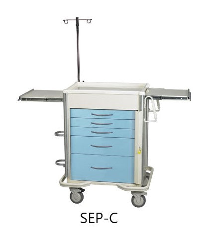 MPD Select Series Aluminum Emergency Crash Cart - New