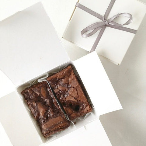 brownie wedding favours