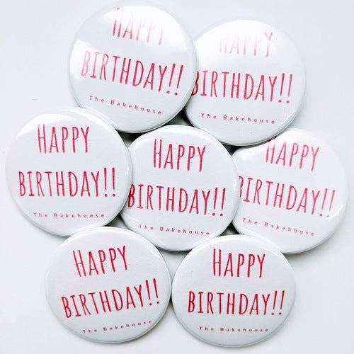 'Happy Birthday!!' Badge