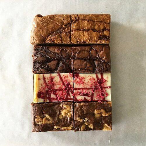 subscription brownie gift box