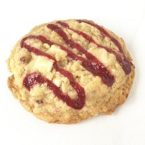 raspberry white chocolate cookie