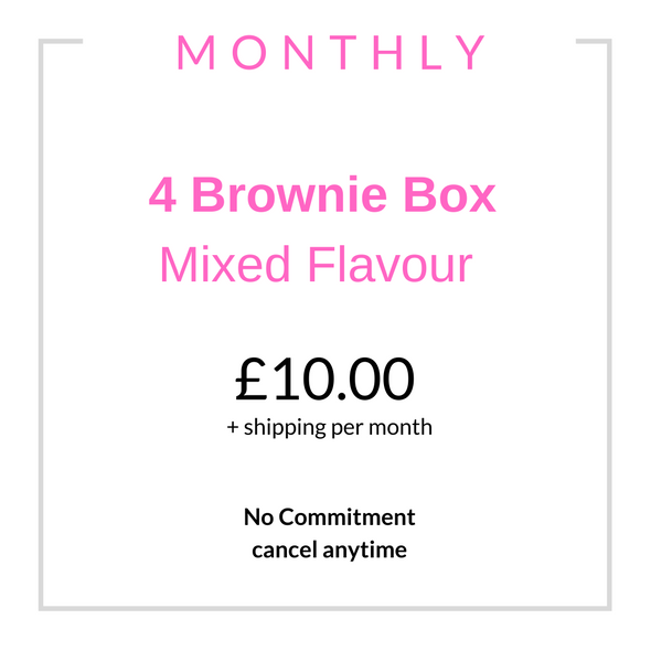 Monthly Brownie Subscription Box