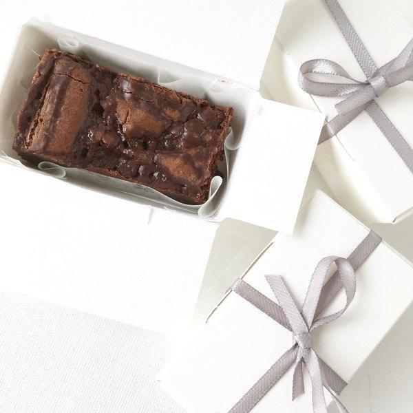 Wedding Favours - Small Brownie Box