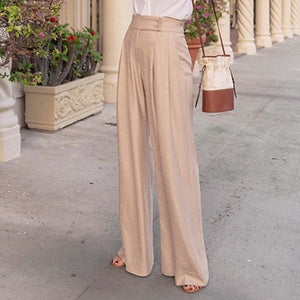 Open image in slideshow, Office Palazzo Trousers