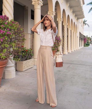Office Palazzo Trousers