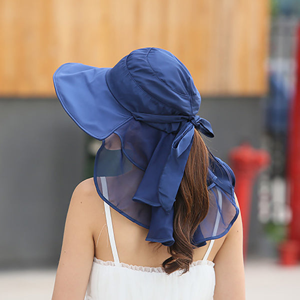 Women's Sun Hats With Face and Neck Protection