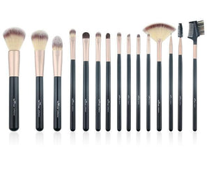 Open image in slideshow, Glow Up Brush Set 15 Pieces