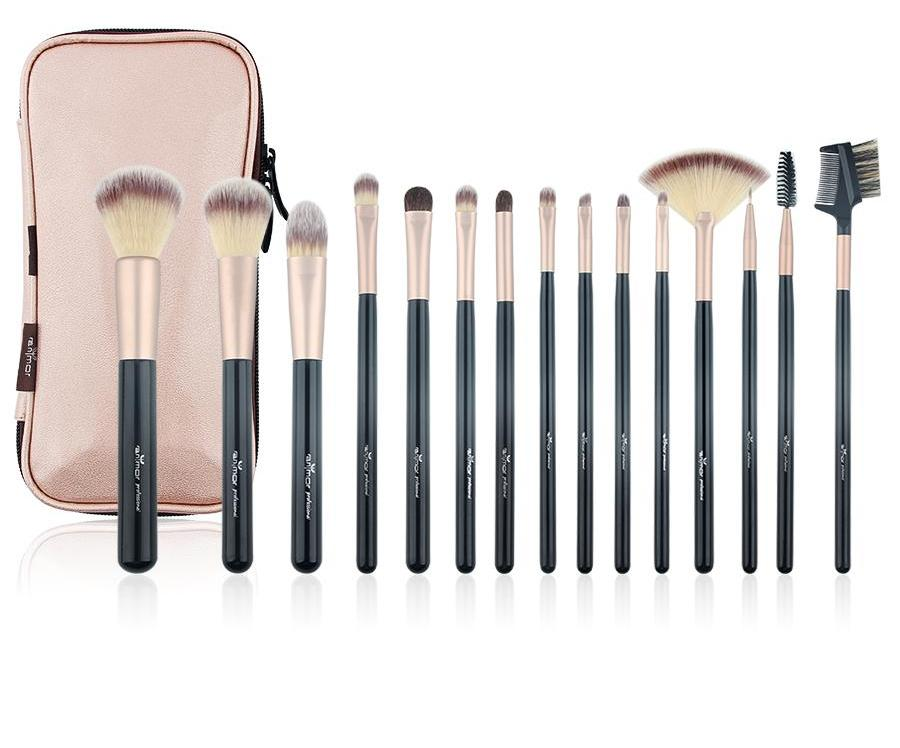 Glow Up Brush Set 15 Pieces