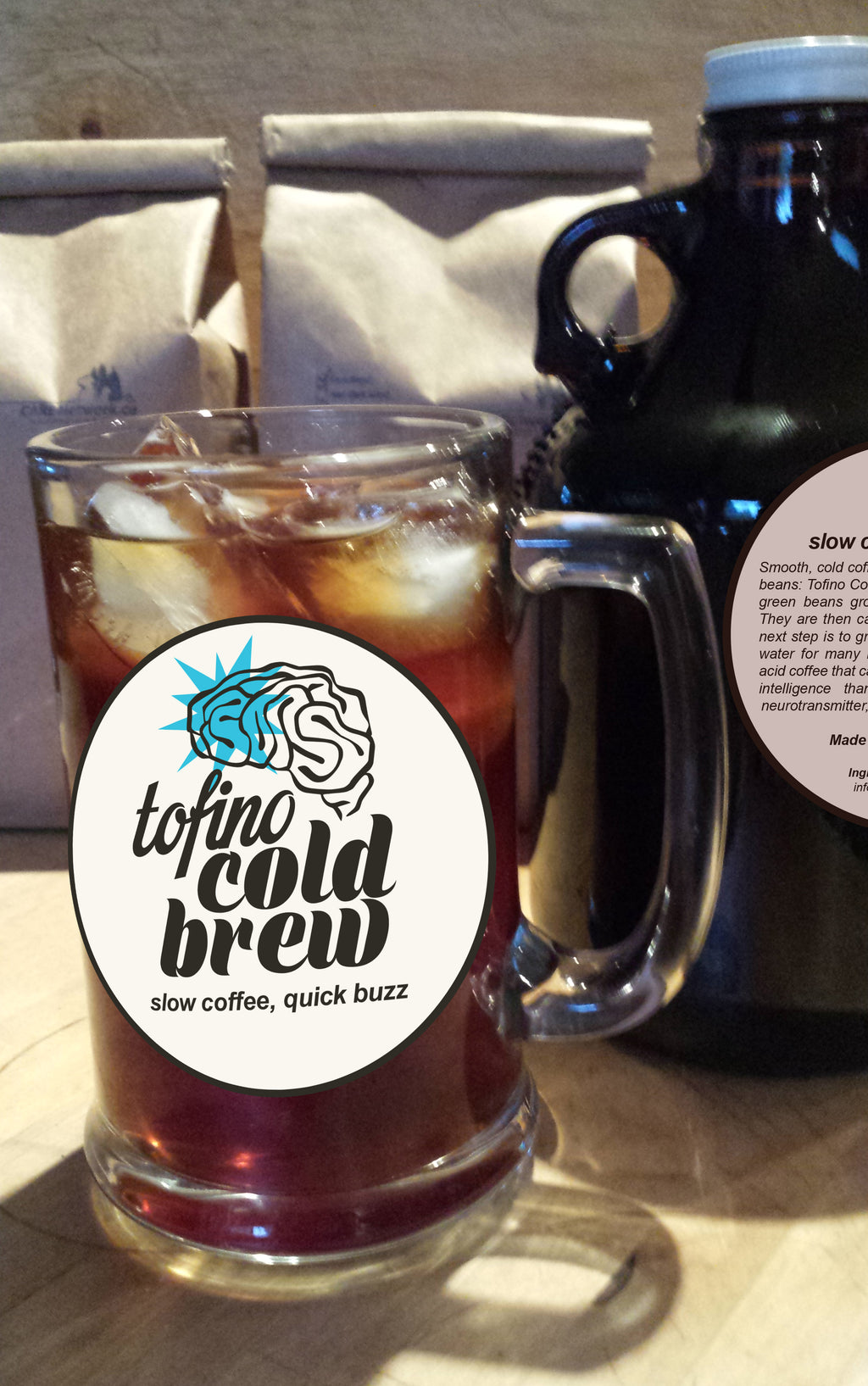 12 Months of TOFINO COLD BREW by CARE - 1 growler/mth