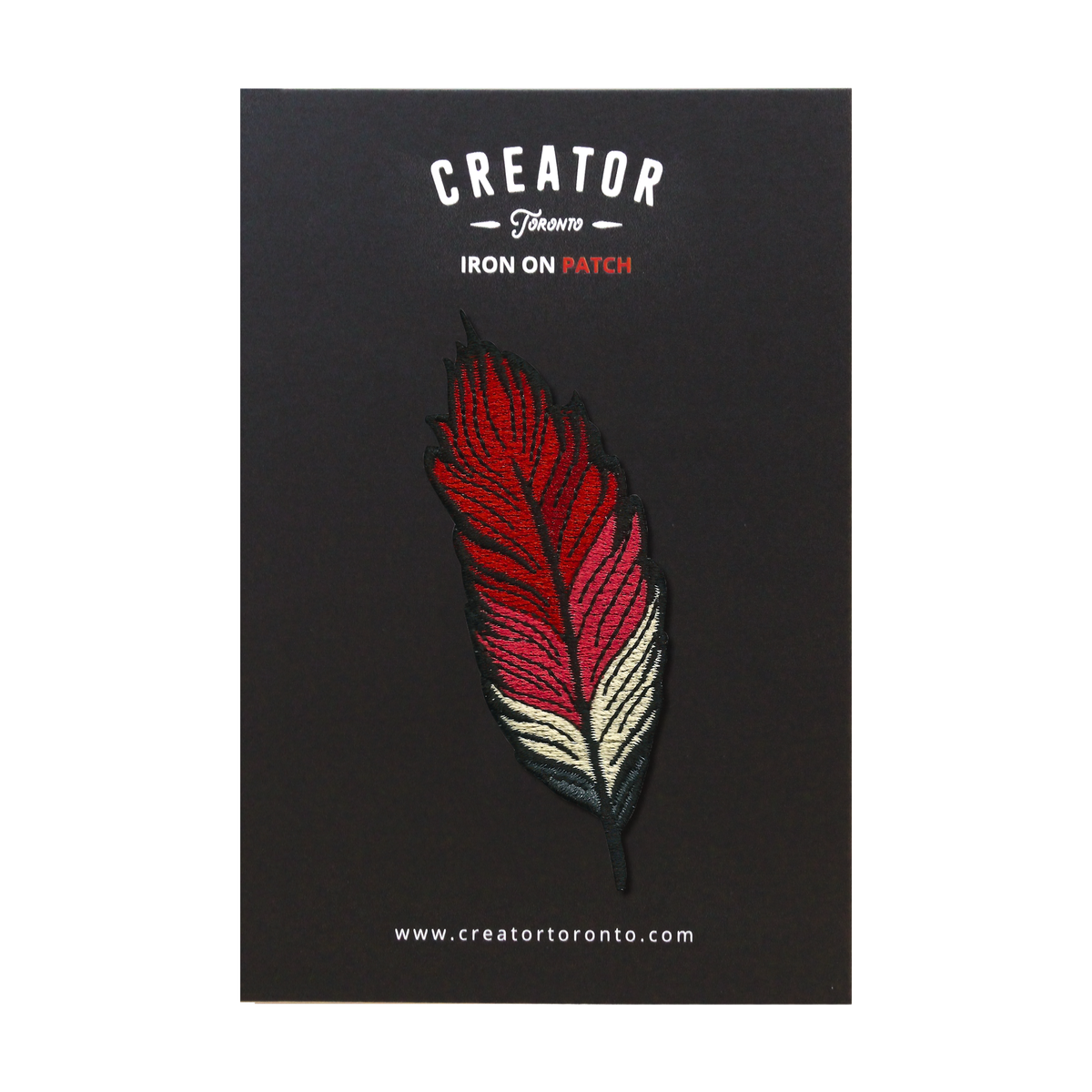 Red Feather Patch