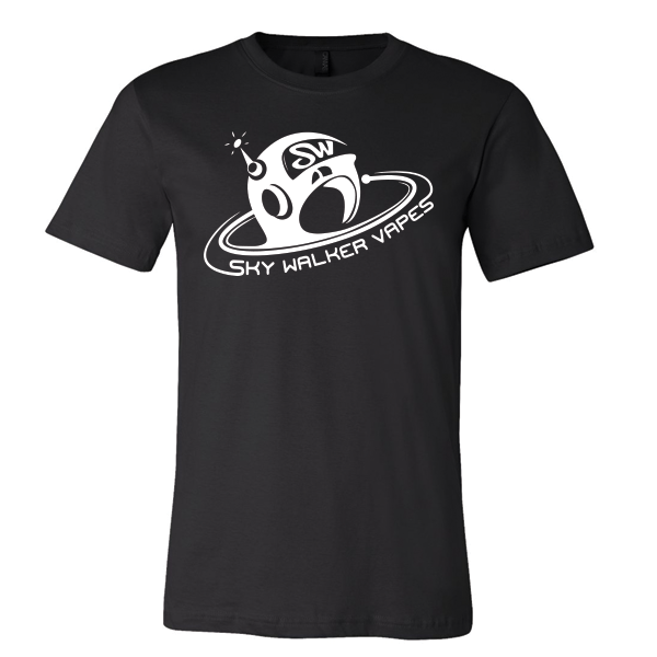 Sky Walker Helmet Logo T-Shirt - SkyWalkerVapes