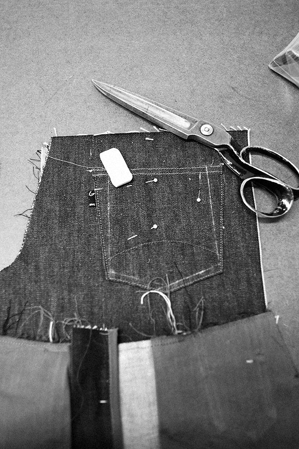 A Glenn's Jean in Progress