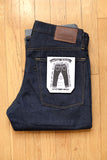 GD111 SLIM STRAIGHT | Raw 13 Oz Selvedge Denim - Classic Indigo