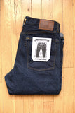 GD112 SLOUCHY TAPERED | Raw 13 Oz Selvedge Denim - Classic Indigo