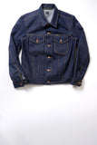GD211 SLIM TRUCKER JACKET | Raw 14 Oz Denim - Vivid Indigo