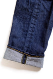 GD112 SLOUCHY TAPERED | Washed 14 Oz Denim - Vivid Indigo
