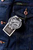 GD211 SLIM TRUCKER JACKET | Washed 13 Oz Selvedge Denim - Classic Indigo