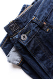 GD113 RELAXED WIDE LEG | Raw 13 Oz Selvedge Denim - Classic Indigo