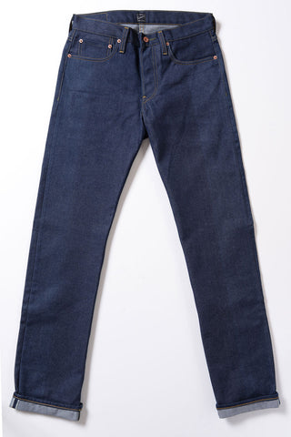 GD110 SLIM TAPERED | Raw 13 Oz Selvedge Denim - Classic Indigo