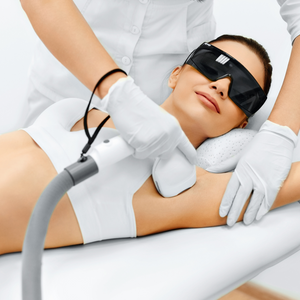 Laser Hair Removal, Small Area, Package of 6