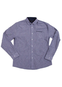 SLUB CHAMBRAY NAVY