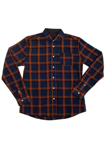 BROOKLYN PLAID NAVY