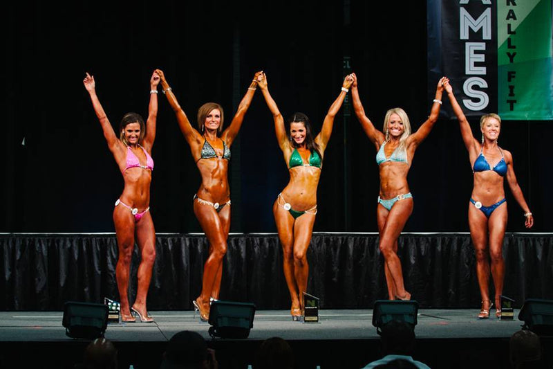 Back from Texas a Vegan WNBF Bikini Pro