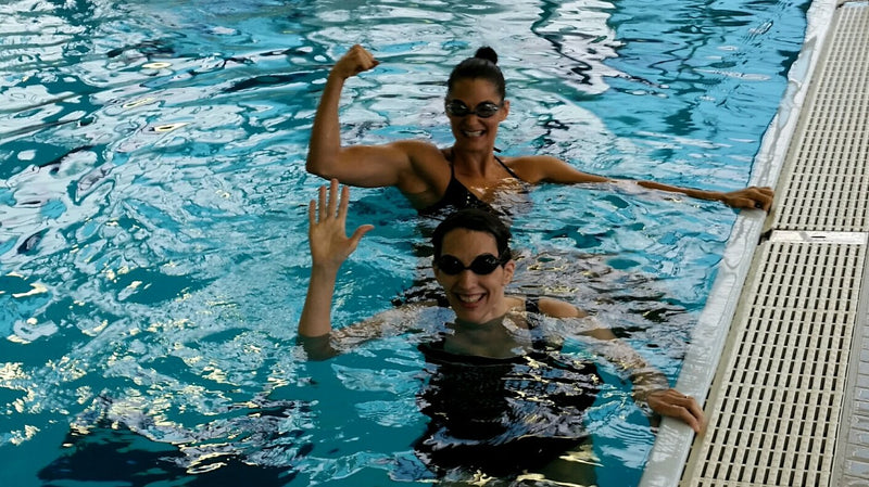 The Shorkey Sisters Learn to Swim... in our Thirties