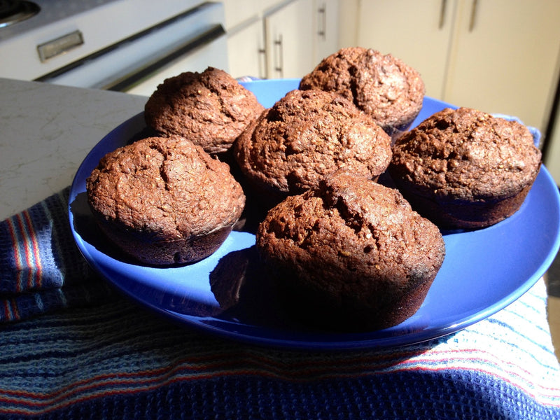 Healthy Vegan Carrot and Molasses Muffins