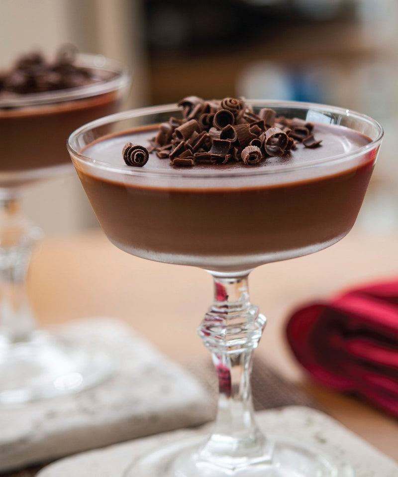 Coconut Milk Dark Chocolate Mousse