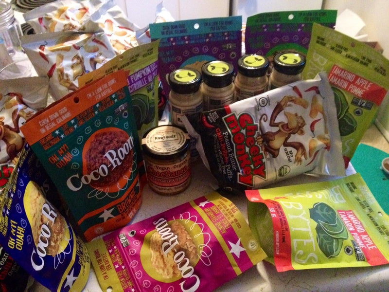 The Mother Load of All Freebies: Vegan Snacks Review