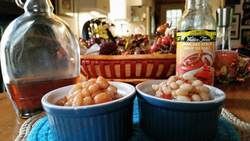 Mom's Famous Canadian Maple Baked Beans - Original Recipe AND My Healthier Prep Version