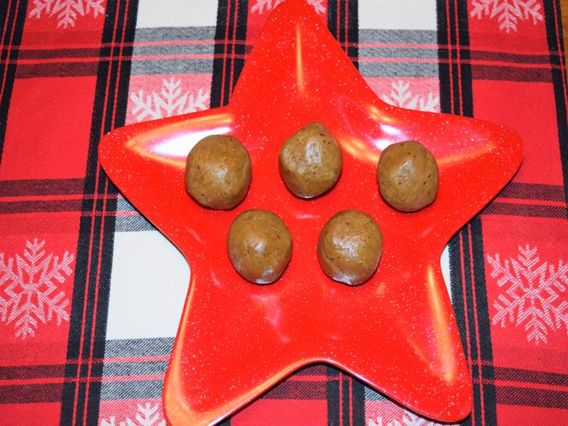Deck the Halls with Gingerbread Protein Balls!