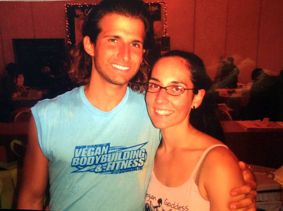 Dani Taylor and Giacomo Marchese - Owners of Vegan Proteins and Team Plantbuilt Vegan Muscle Team