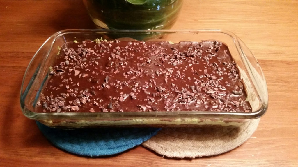 mint chocolate raw bars