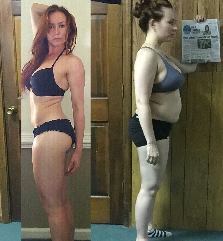vegan before and after vegan coaching transformation