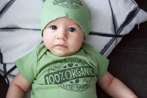 Harry Shorkey vegan baby Jacked on the Beanstalk Sam Shorkey cute baby