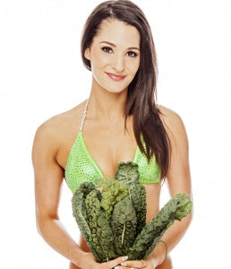 samantha shorkey vegan bikini competitor jacked on the beanstalk