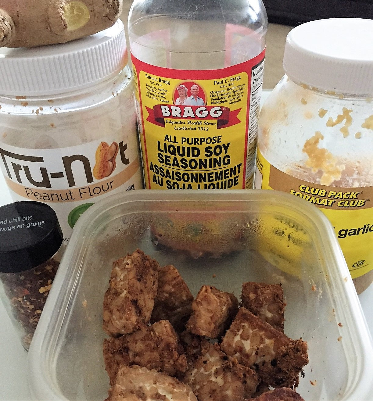 Vegan bodybuilding Competition Prep friendly Tempeh Recipe