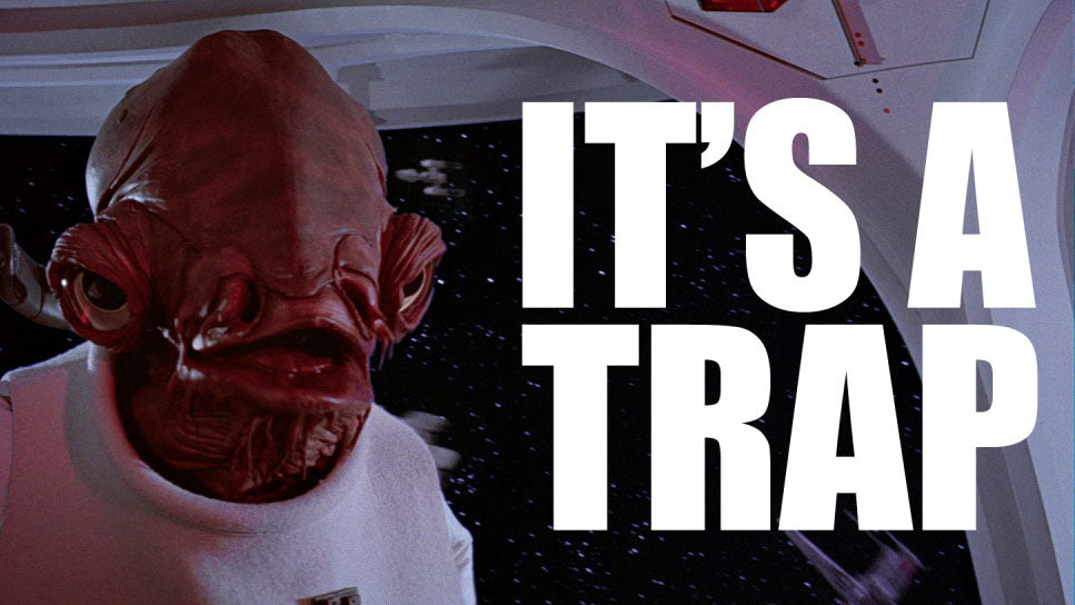 admiral ackbar goal setting is a trap
