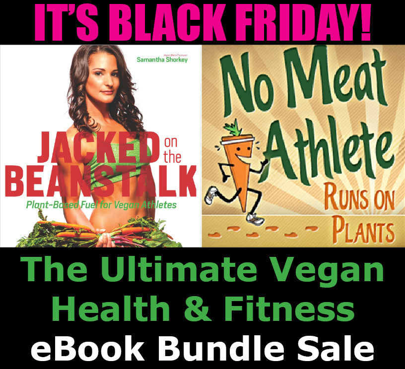 Jacked on the Beanstalk No Meat Athlete Vegan eBook Bundle Black Friday Special