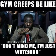gym creepers