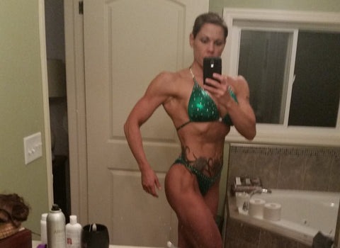 karrinna c vegan figure competitor team jacked on the beanstalk vegan coaching