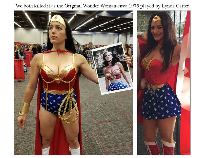 nadege corcoran and samantha shorkey vegan wonderwoman