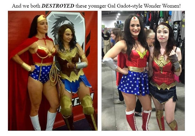 winning vegan bikini competitor samantha shorkey nadege corcoran and winning wonder women