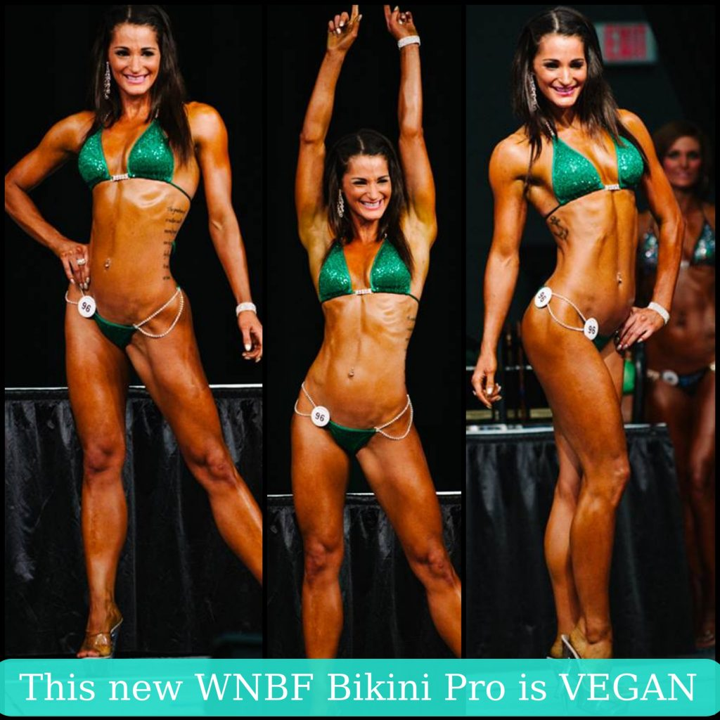 vegan bikini competitor Samantha Shorkey