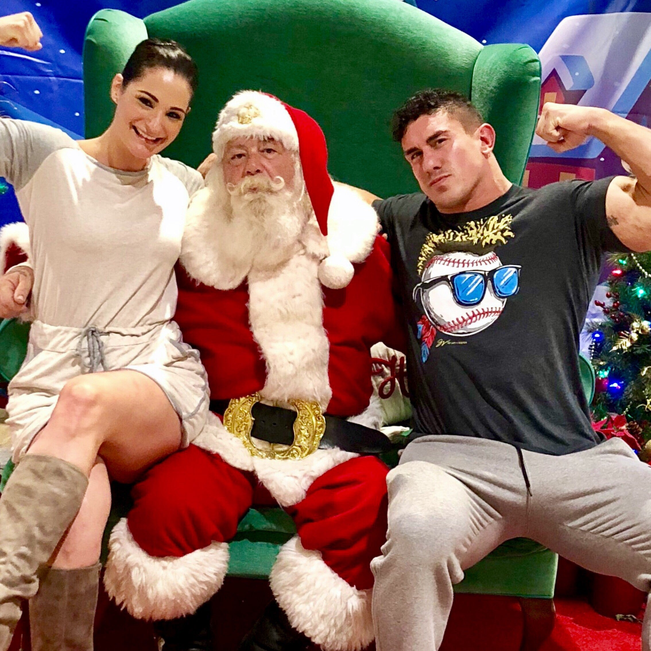 Merry Christmas with sam shorkey and EC3 with santa